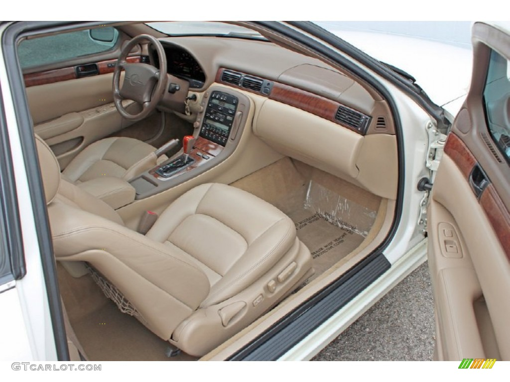 Beige Interior 1998 Lexus Sc 400 Photo 62250901
