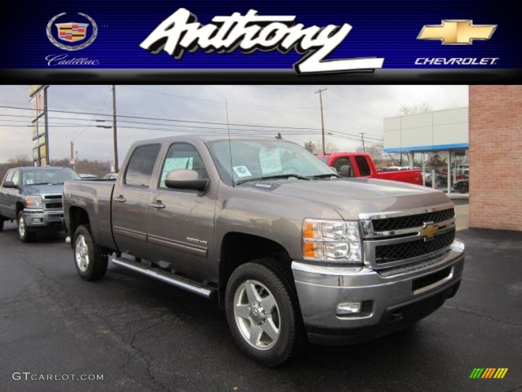 Mocha steel metallic chevrolet silverado 2500hd