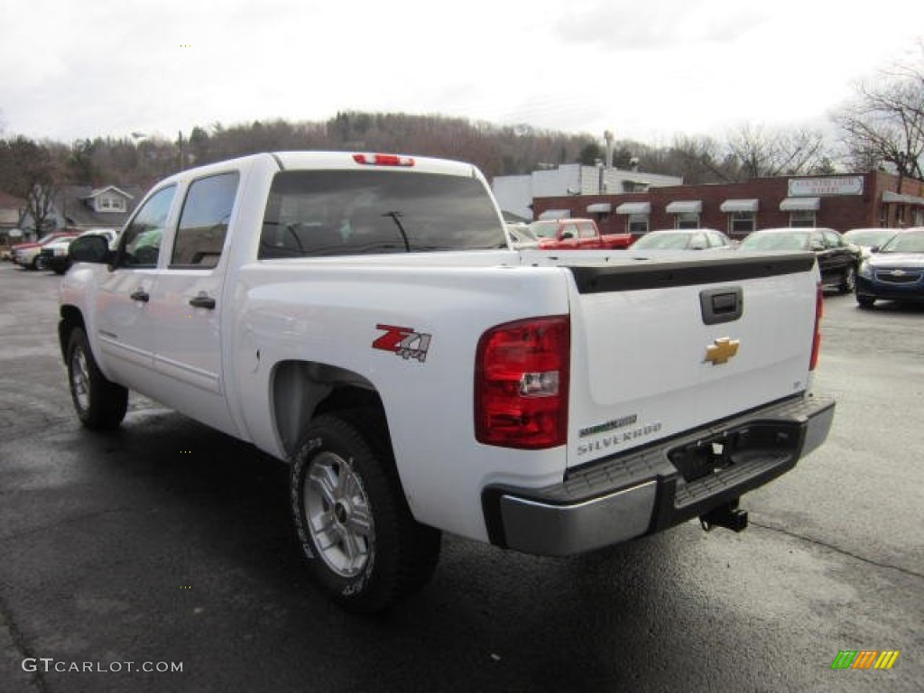 2012 Silverado 1500 LT Crew Cab 4x4 - White Diamond Tricoat / Ebony photo #5