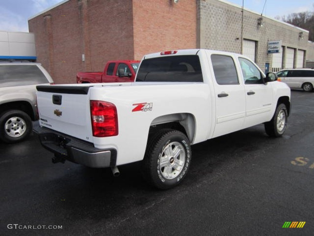 2012 Silverado 1500 LT Crew Cab 4x4 - White Diamond Tricoat / Ebony photo #7
