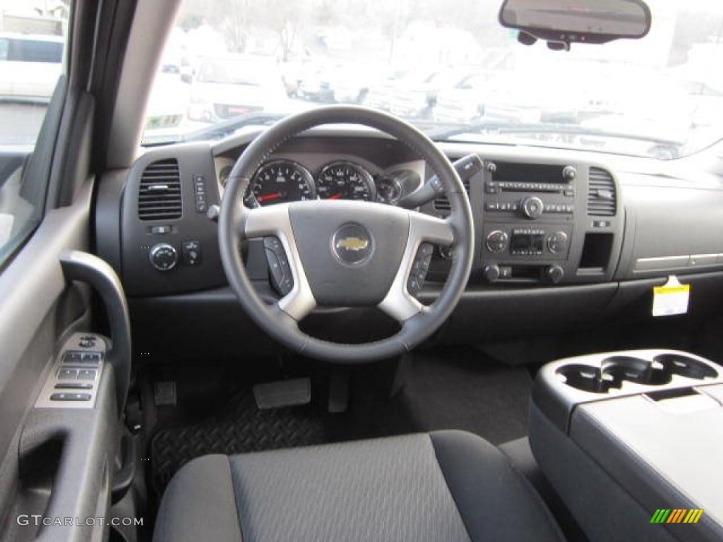 2012 Silverado 1500 LT Crew Cab 4x4 - White Diamond Tricoat / Ebony photo #15