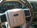 2012 White Platinum Metallic Tri-Coat Ford F250 Super Duty King Ranch Crew Cab 4x4  photo #8