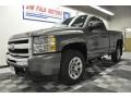 2011 Steel Green Metallic Chevrolet Silverado 1500 LS Regular Cab  photo #10