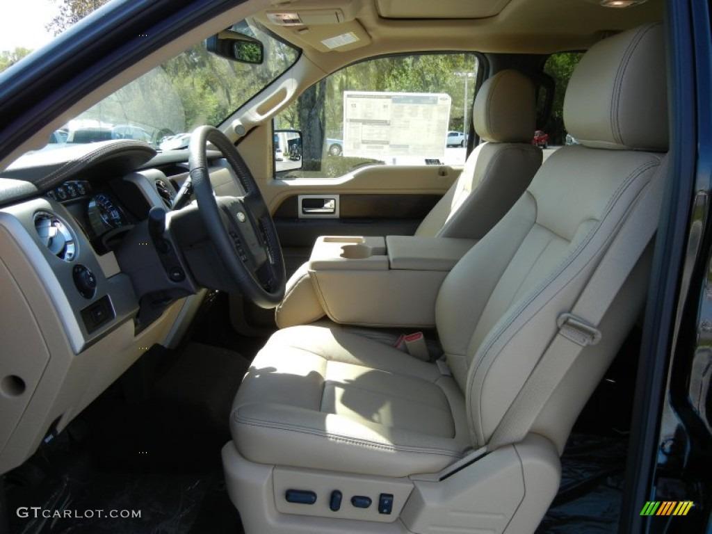 Pale Adobe Interior 2012 Ford F150 Lariat Supercrew Photo 62274259