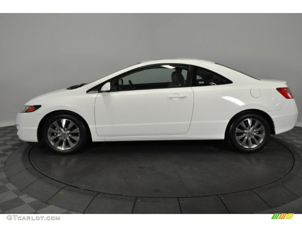 taffeta white 2009 honda civic ex l coupe exterior photo 62275729. Black Bedroom Furniture Sets. Home Design Ideas