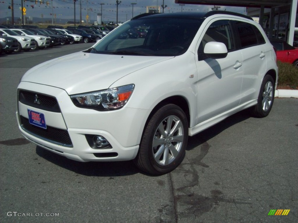 Diamond White 2012 Mitsubishi Outlander Sport SE 4WD Exterior Photo #62276410 | GTCarLot.com