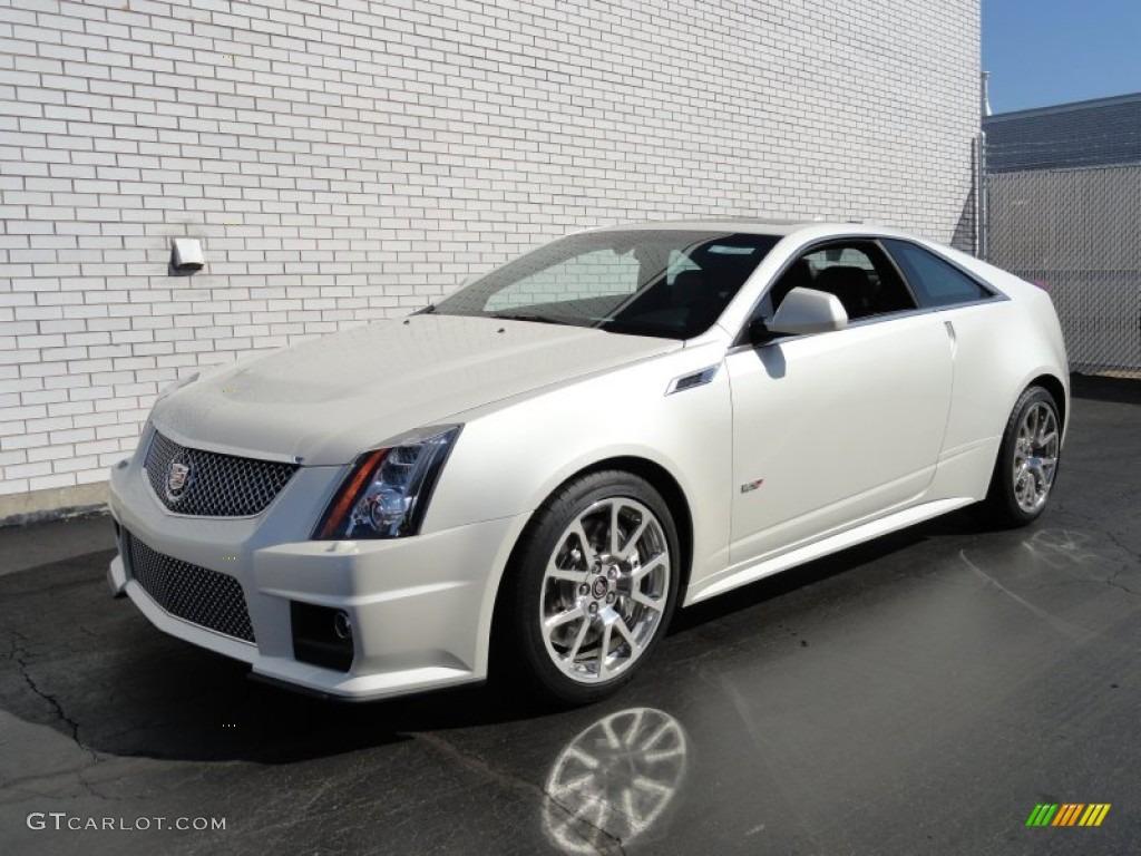 2012 White Diamond Tricoat Cadillac Cts V Coupe 62243400