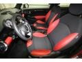 Black/Rooster Red Interior Photo for 2009 Mini Cooper #62279071