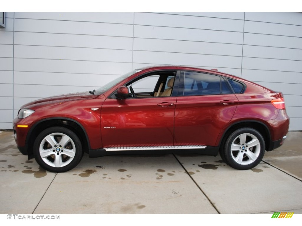 Vermilion Red Metallic 2008 Bmw X6 Xdrive35i Exterior