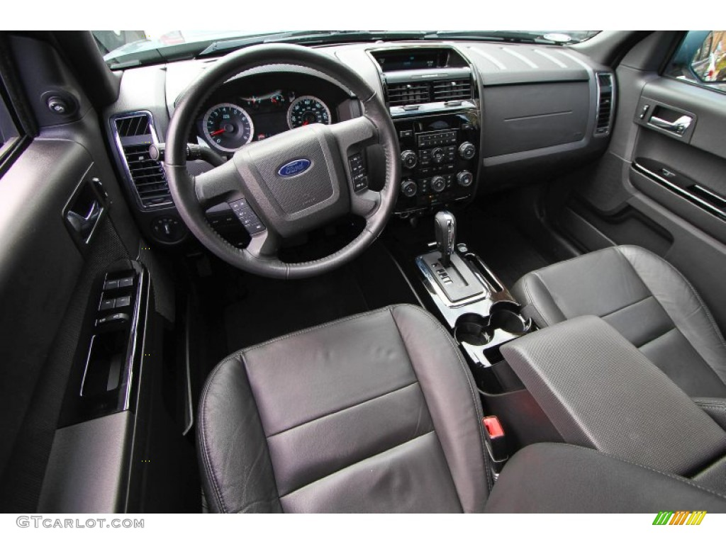 2010 Ford Escape Limited V6 4wd Charcoal Black Dashboard