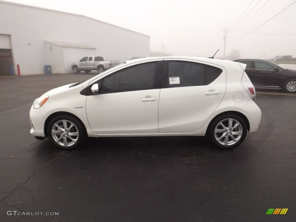 super white 2012 toyota prius c hybrid four exterior photo 62303219. Black Bedroom Furniture Sets. Home Design Ideas