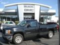 Onyx Black 2007 GMC Sierra 1500 Regular Cab 4x4