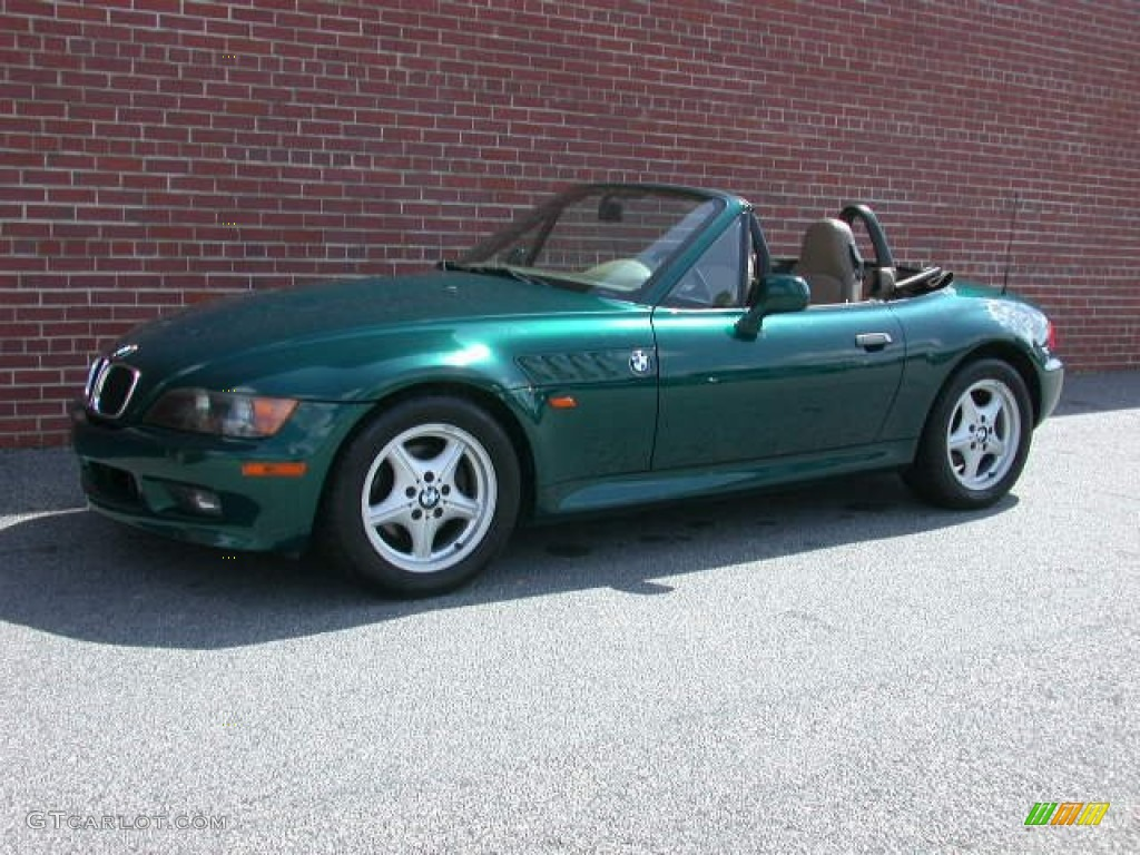 1998 Boston Green Metallic Bmw Z3 1 9 Roadster 62312869