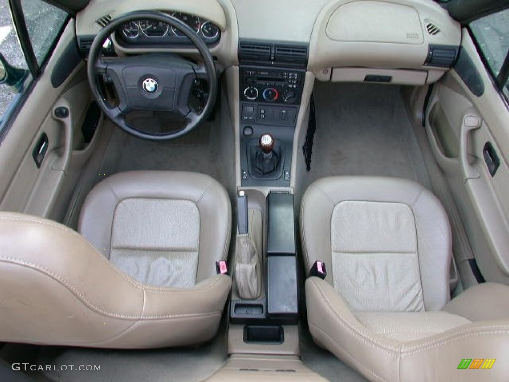 Beige Interior 1998 Bmw Z3 1 9 Roadster Photo 62313166