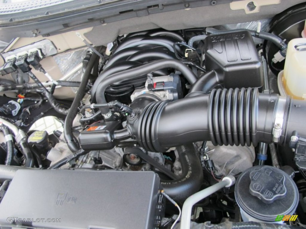 2010 Ford F150 XLT SuperCrew 4.6 Liter SOHC 24-Valve VVT ...