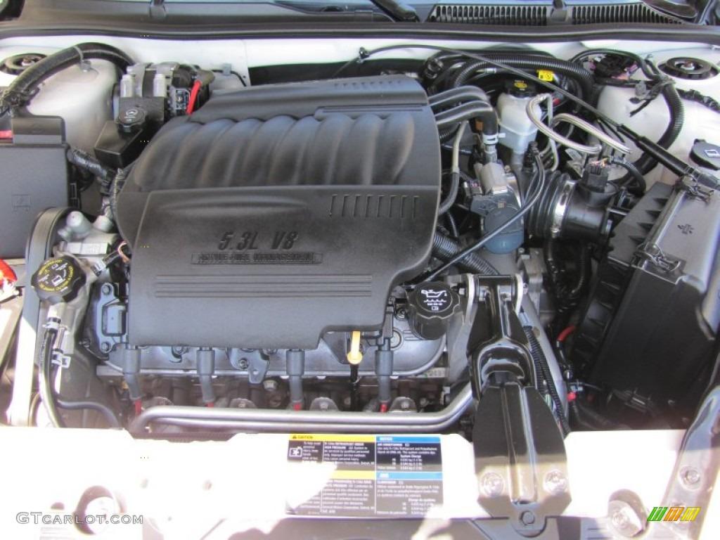2008 Chevrolet Impala SS 5.3 Liter OHV 16 Valve LS4 V8 Engine Photo ...