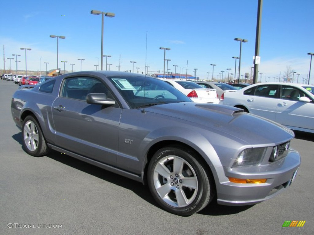 2007 Mustang GT Premium Coupe - Tungsten Grey Metallic / Dark Charcoal photo #1
