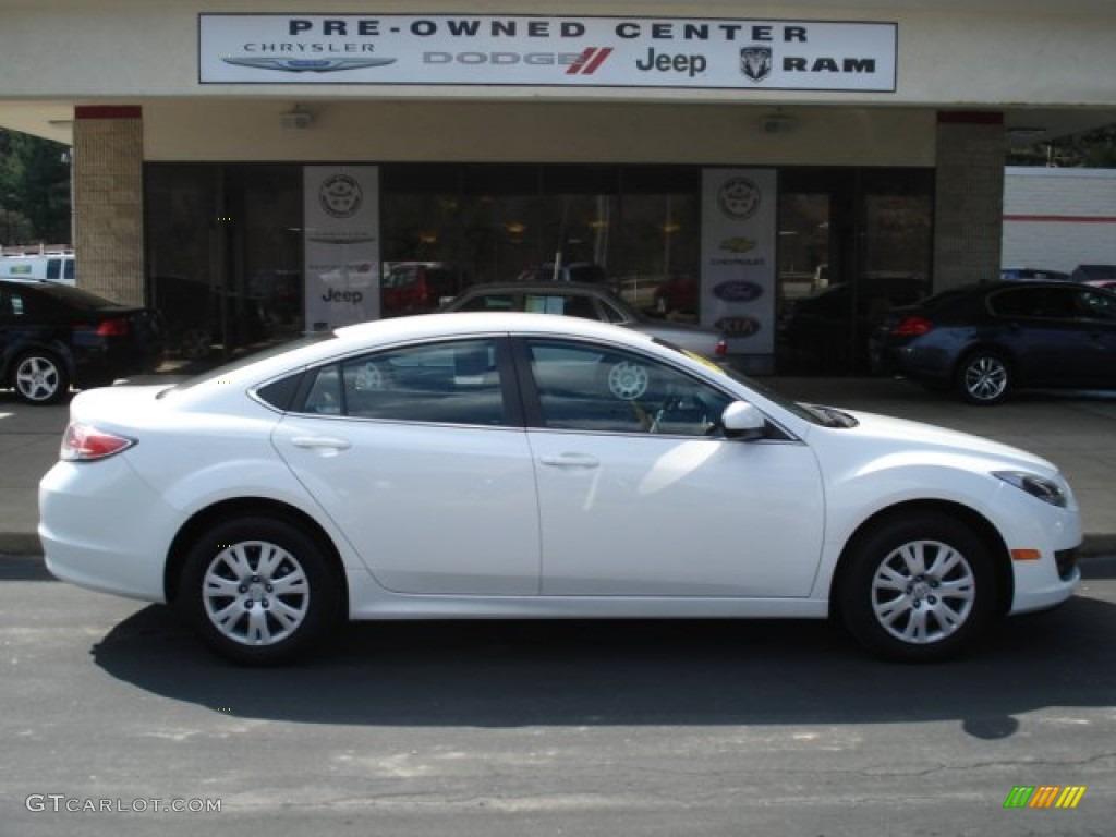 2011 techno white pearl mazda mazda6 i sport sedan #62312083