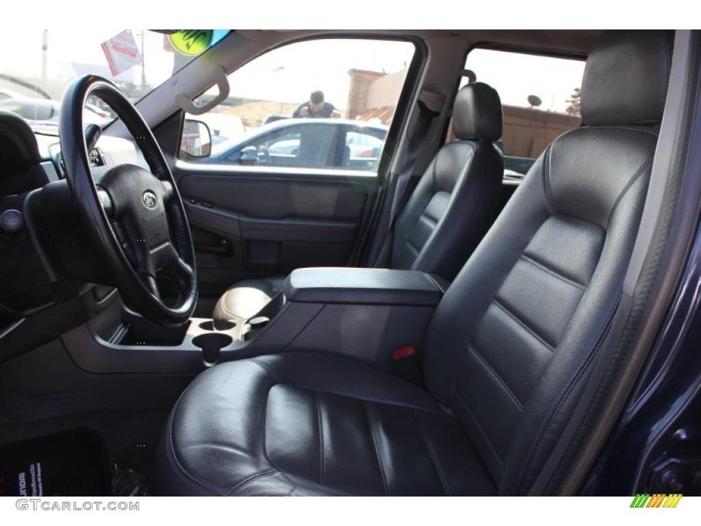 Graphite Interior 2002 Ford Explorer Xlt 4x4 Photo