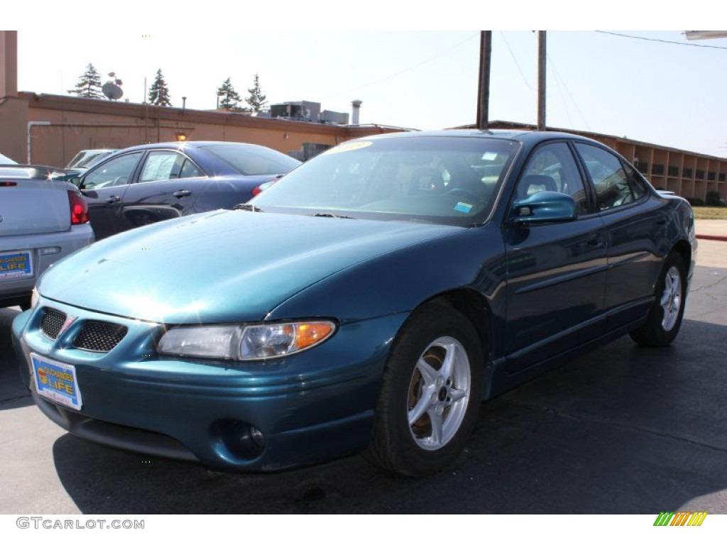 2003 dark tropic teal metallic pontiac grand prix gt sedan. Black Bedroom Furniture Sets. Home Design Ideas