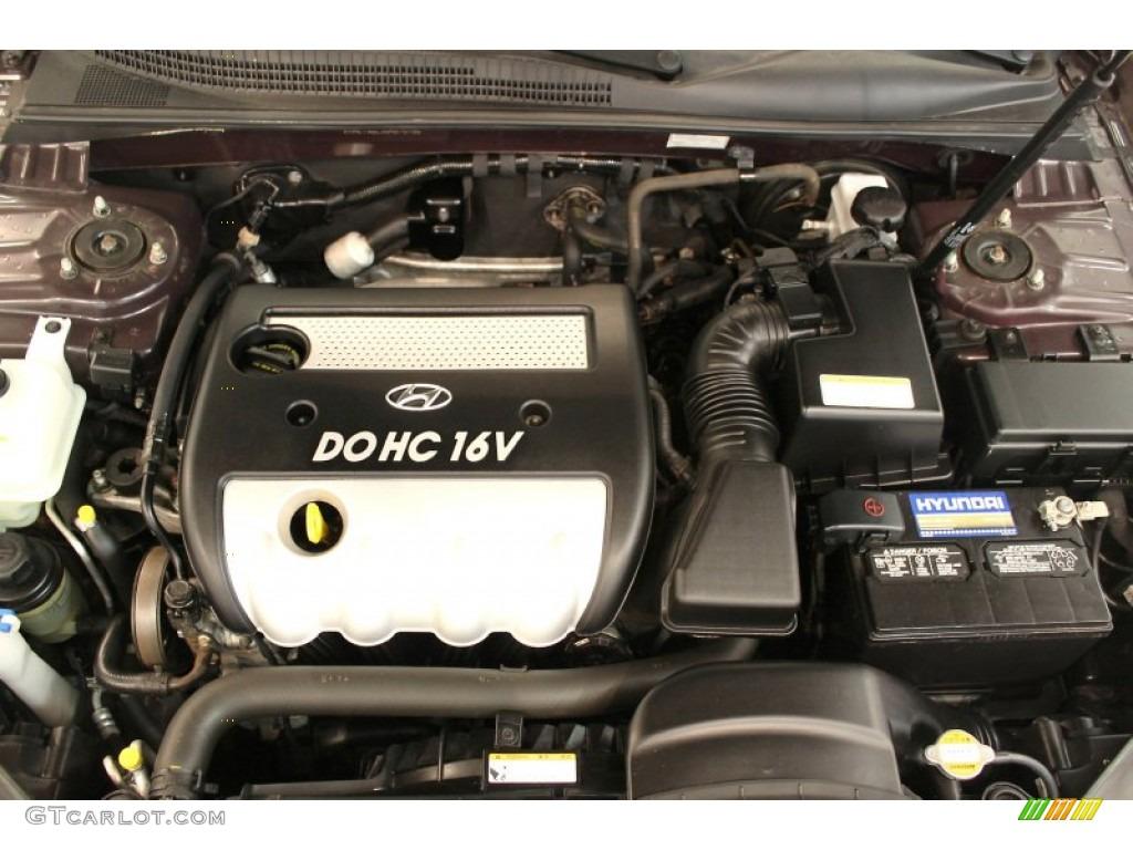 2006 Hyundai Sonata Gls 2 4 Liter Dohc 16v Vvt 4 Cylinder