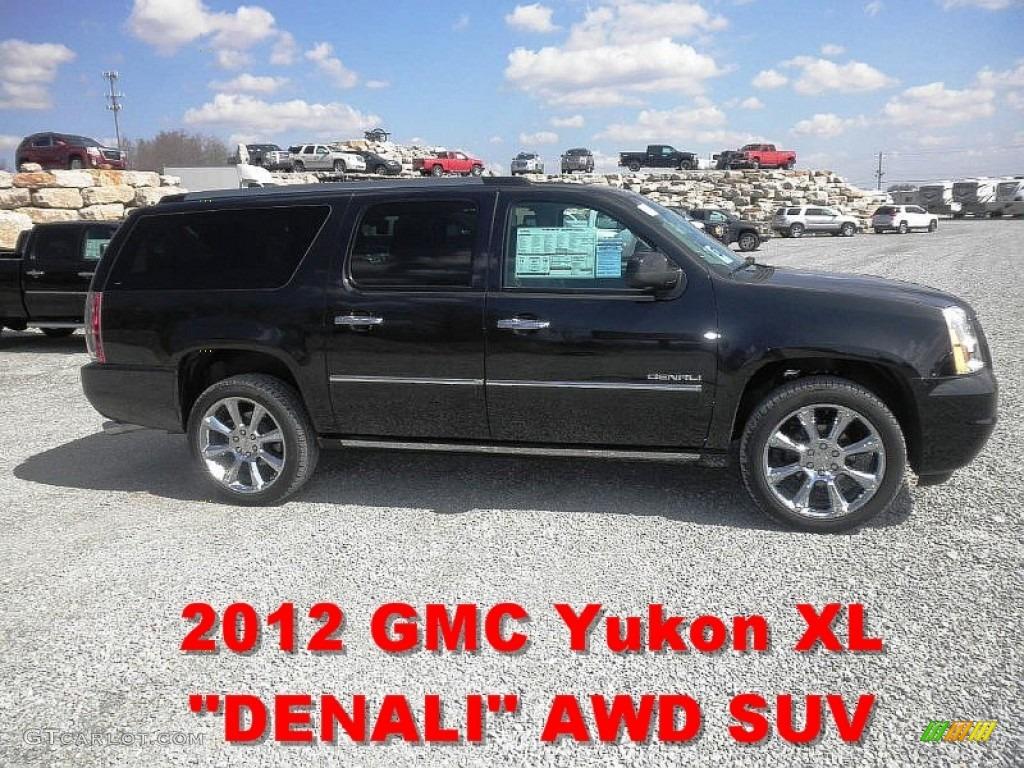 2012 carbon black metallic gmc yukon xl denali awd 62312745 photo 13 car. Black Bedroom Furniture Sets. Home Design Ideas