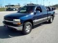 1999 Indigo Blue Metallic Chevrolet Silverado 1500 LS Extended Cab 4x4  photo #11