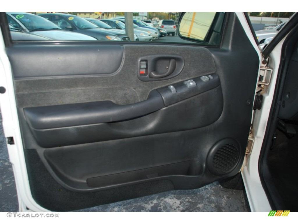2000 Chevrolet Blazer Ls Graphite Gray Door Panel Photo 62347511