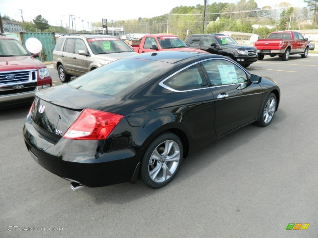 crystal black pearl 2012 honda accord ex l v6 coupe. Black Bedroom Furniture Sets. Home Design Ideas