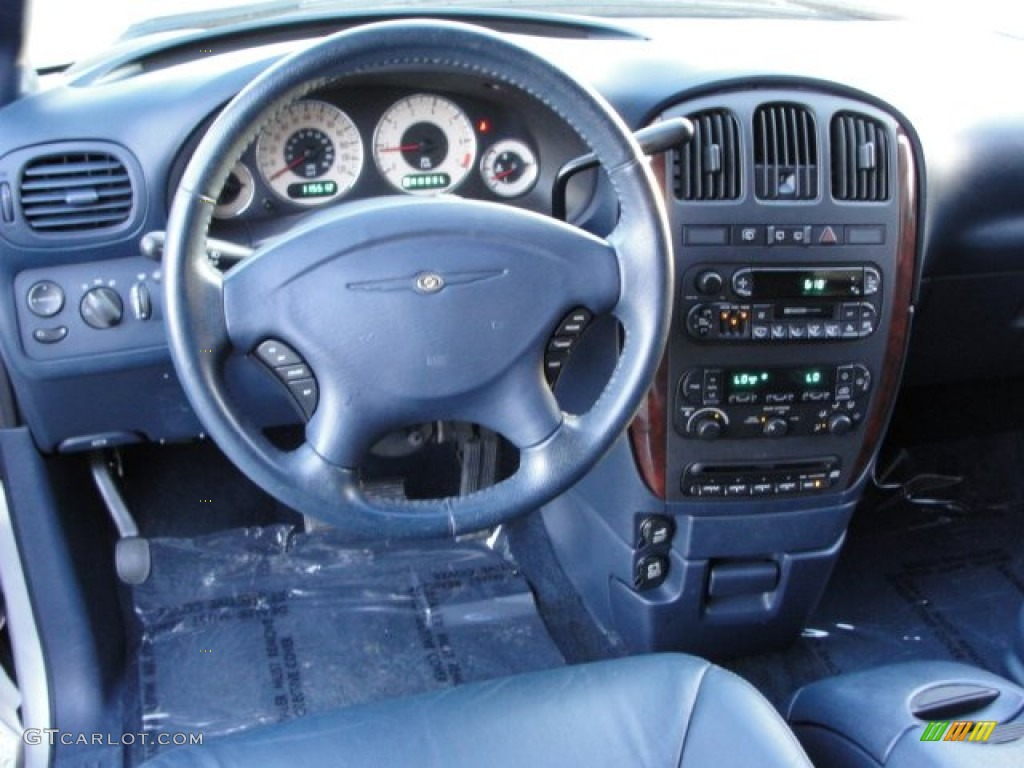 2001 Chrysler Town Country Lxi Navy Blue Dashboard Photo 62373468
