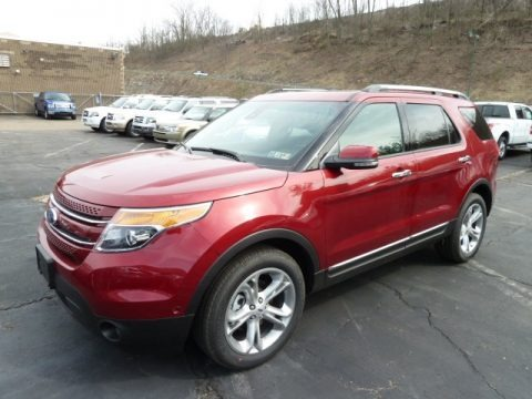 2013 Ford Explorer Limited 4WD Data, Info and Specs