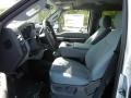 2012 Ingot Silver Metallic Ford F250 Super Duty XLT Crew Cab 4x4  photo #5