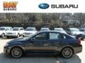 Dark Gray Metallic 2012 Subaru Impreza WRX STi Limited 4 Door