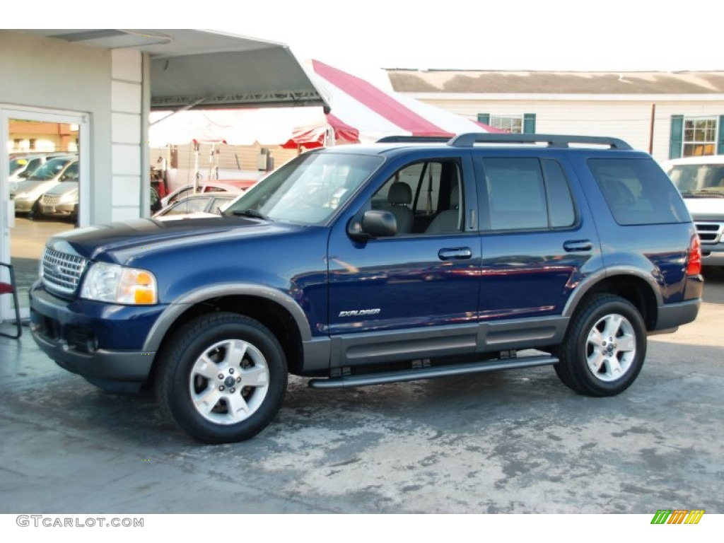 2005 Dark Blue Pearl Metallic Ford Explorer Xlt 62377678