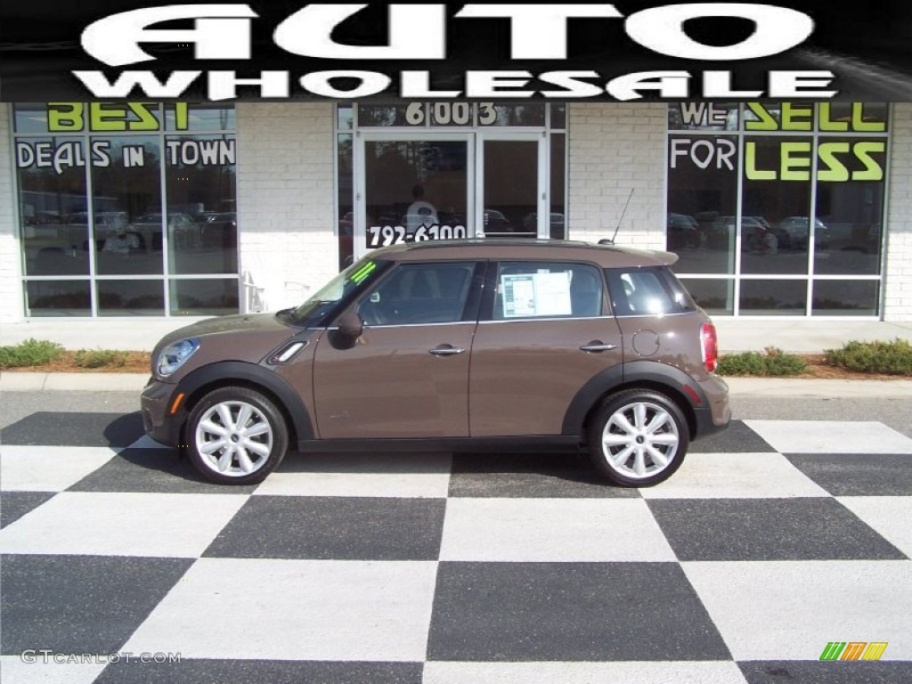2011 light coffee mini cooper s countryman all4 awd 62377676 photo 4 car. Black Bedroom Furniture Sets. Home Design Ideas