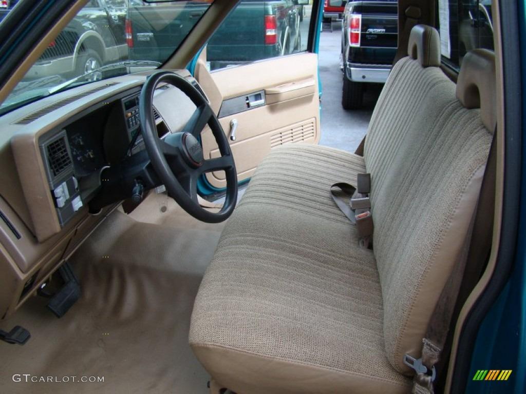 Beige Interior 1994 Gmc Sierra 1500 Sle Regular Cab Photo 62404082