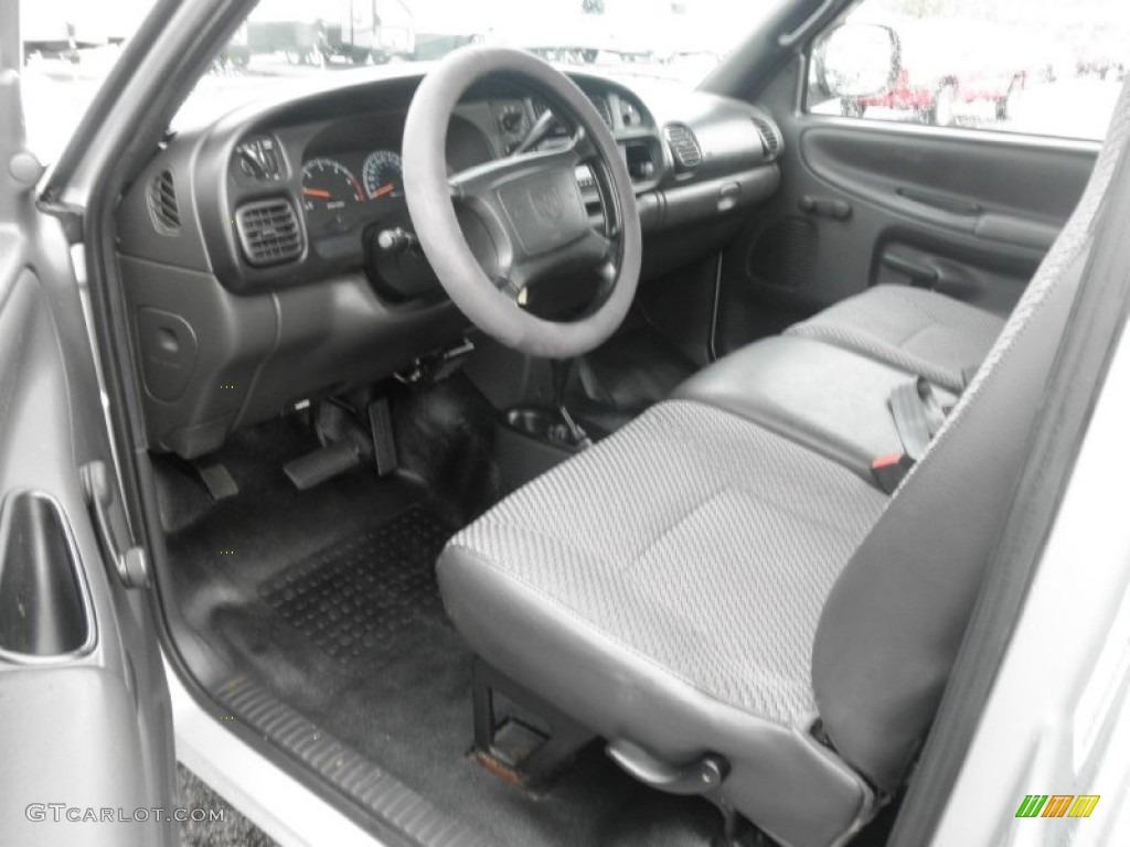 2001 Bright Silver Metallic Dodge Ram 1500 Regular Cab 4x4