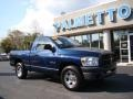 2008 Patriot Blue Pearl Dodge Ram 1500 ST Regular Cab  photo #2