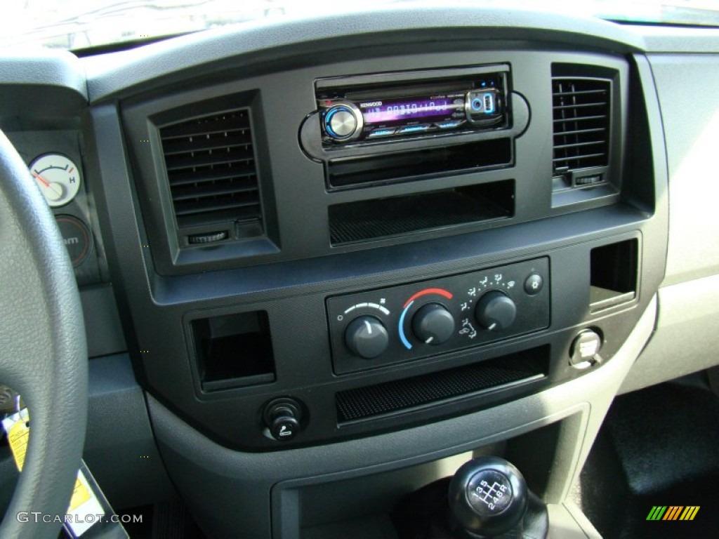 2008 Ram 1500 ST Regular Cab - Patriot Blue Pearl / Medium Slate Gray photo #16