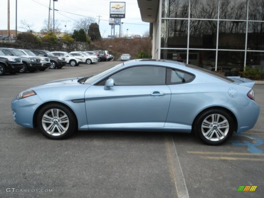 Sky Blue 2007 Hyundai Tiburon Gs Exterior Photo 62418615