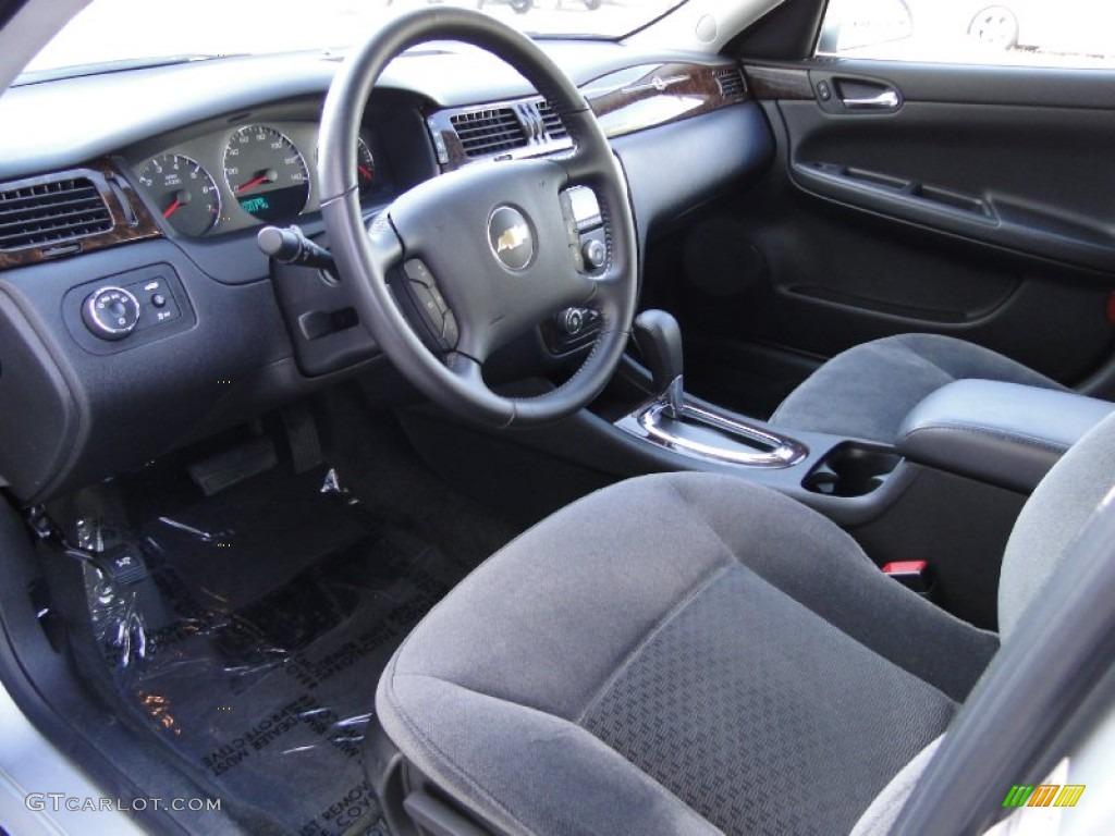 Ebony Interior 2012 Chevrolet Impala Lt Photo 62423376