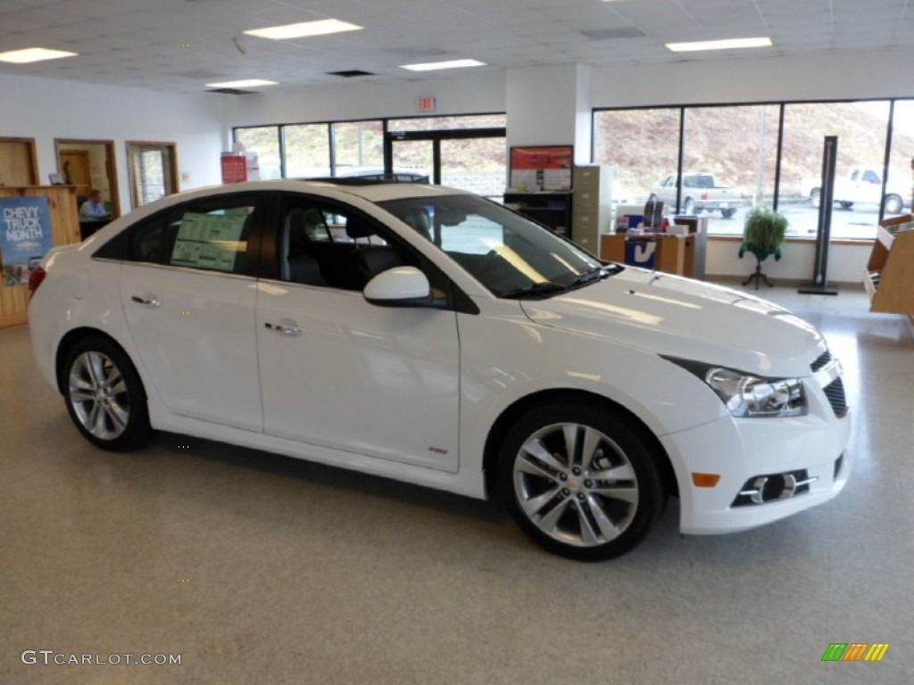 2012 summit white chevrolet cruze ltz rs 62377791 car color galleries. Black Bedroom Furniture Sets. Home Design Ideas