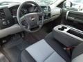 2009 Chevrolet Silverado 1500 Dark Titanium Interior Prime Interior Photo