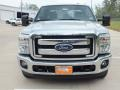 2012 Ingot Silver Metallic Ford F250 Super Duty XLT Crew Cab 4x4  photo #10