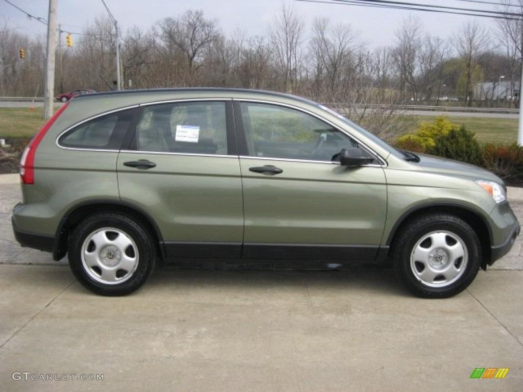 Green Tea Metallic 2008 Honda Cr V Lx 4wd Exterior Photo 62440590 Gtcarlot Com