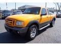 U3 - Grabber Orange Ford Ranger (2008)
