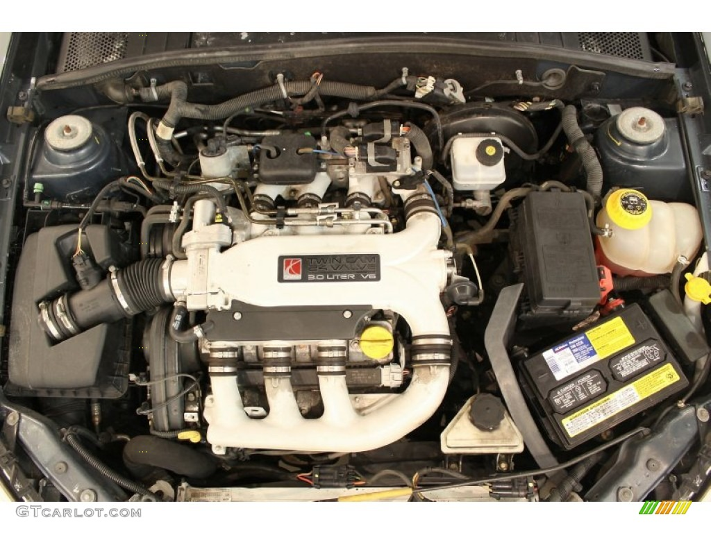 2003 Saturn L Series LW300 Wagon 3.0 Liter DOHC 24-Valve V6 Engine Photo #
