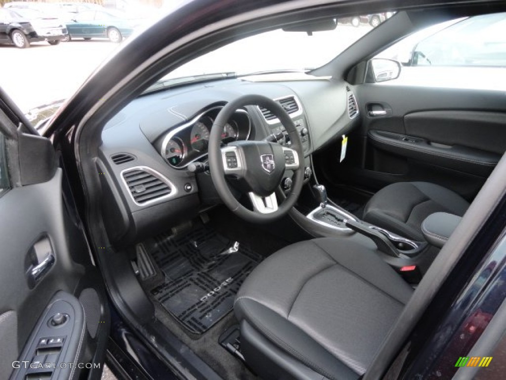 black interior 2012 dodge avenger sxt photo 62445250. Black Bedroom Furniture Sets. Home Design Ideas