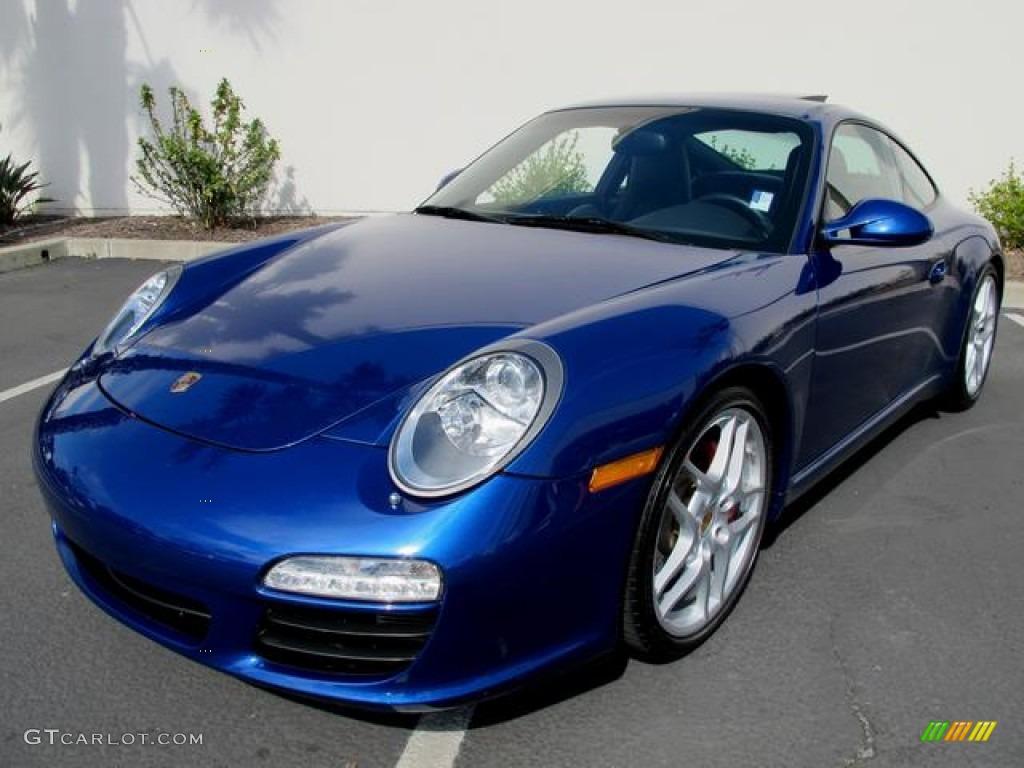 Aqua Blue Metallic 2009 Porsche 911 Carrera S Coupe