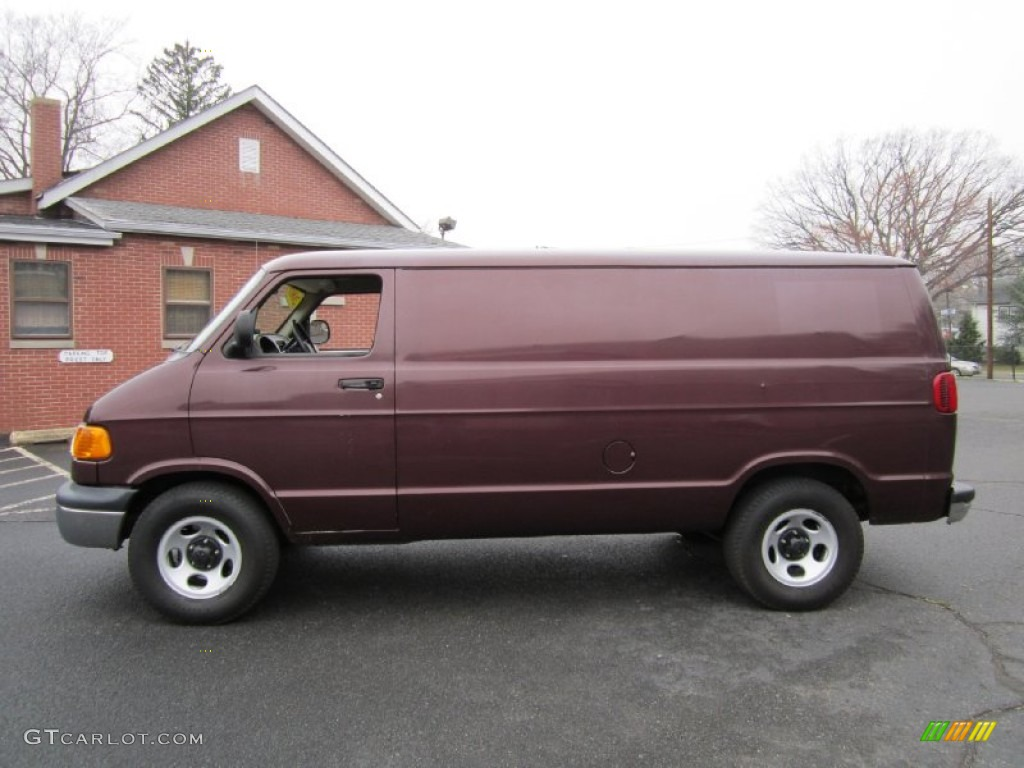 2003 director red metallic dodge ram van 1500 cargo 62434657 car color galleries. Black Bedroom Furniture Sets. Home Design Ideas